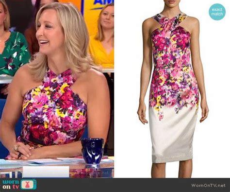 Dress Lara Dc 25 best ideas about lara spencer on morning america hosts flea market flip