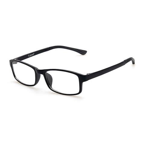 blue light blocking glasses amazon amazon com cyxus blue light blocking computer glasses