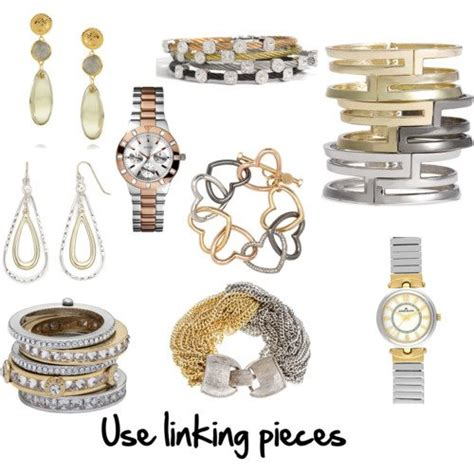 mixing gold and silver how to mix metals inside out style