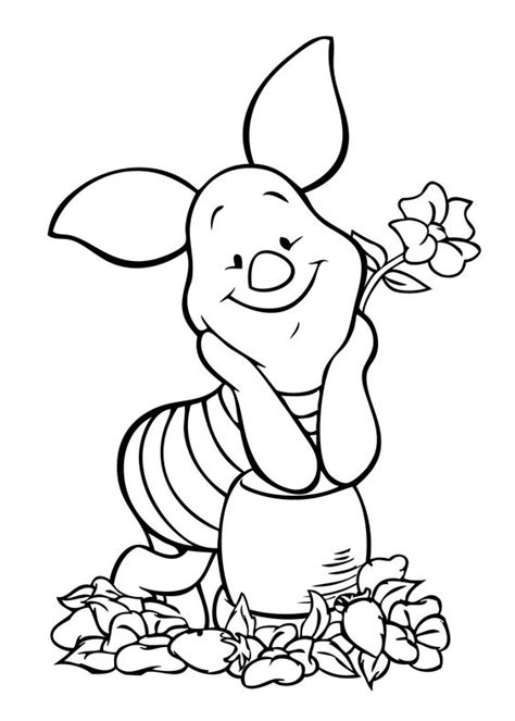 pooh bear coloring pages to print winnie pooh piglet coloring page coloring pages