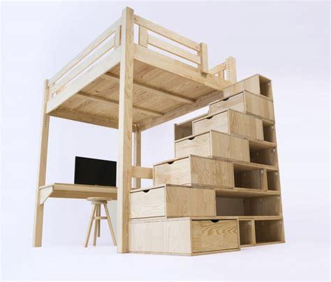 lit mezzanine 2 places escalier 23 best images about lit mezzanine abc meubles on