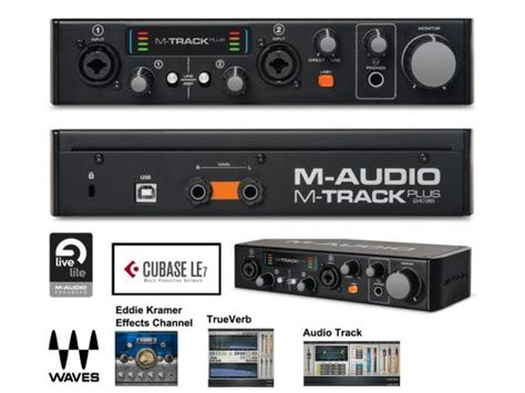 M Audio M Track Plus Mk2 スタイリッシュなボディで新登場 m audio m track mk2 m track plus mk2が発売 株式会社ニュマークジャパンコーポレーション プレスリリース配信代行