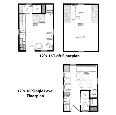 16 x 16 cabin floor plans tiny home cabin packages are available from finished right