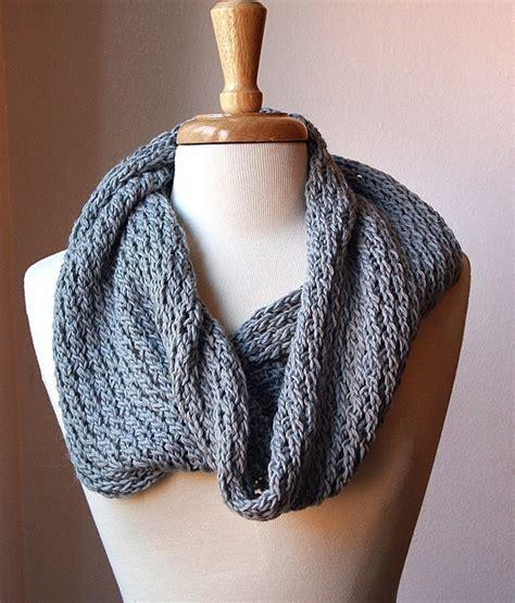 infinity scarf knitting pattern circular scarf snood