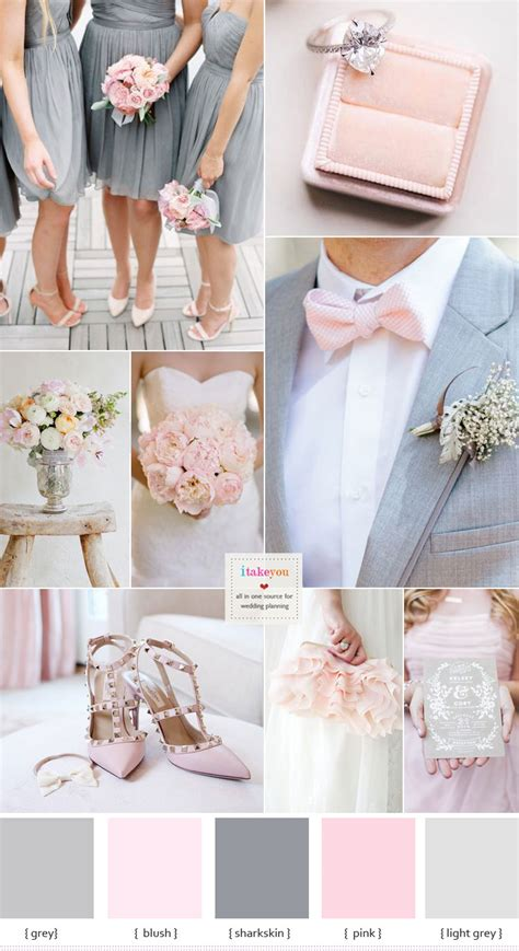 pink and grey color scheme grey and pink wedding colour schemes blush wedding colours