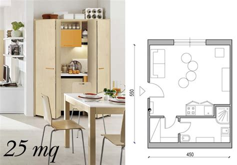 Come Dividere Una Stanza Senza Opere Murarie by Arredare Una Casa Piccola Da 25 Mq A 60 Mq Living Corriere