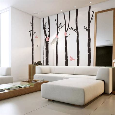 large wall stickers for living room large wall stickers landscape wall tree decals for nursery