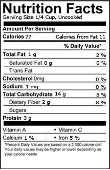 whole grain quaker oats nutrition facts quaker oats nutrition facts www pixshark images