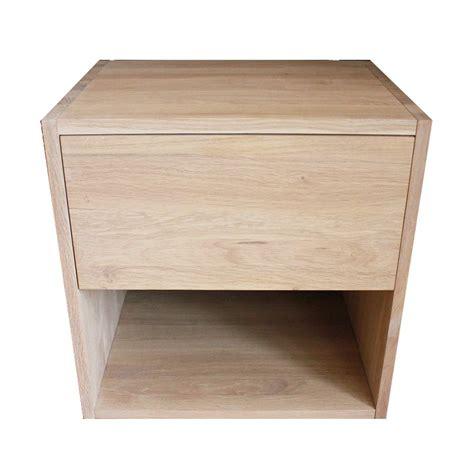 Cubes Bois Rangement by Table De Chevet Cube De Rangement Avec Tiroir En Bois De