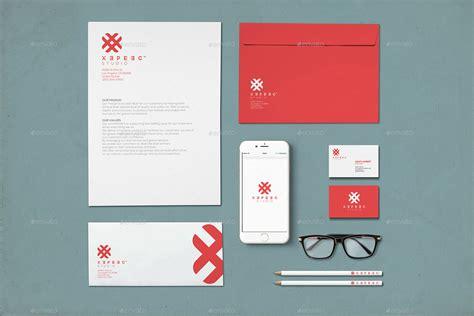 branding design mockup realistic branding identity design mockups v4 by xepeec