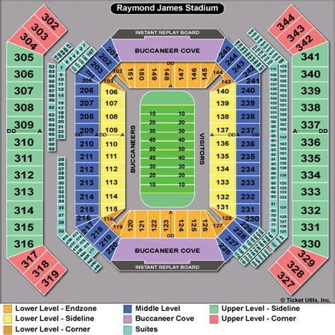 ta buccaneers stadium seating ta bay buccaneers tickets 2018 bucs tickets