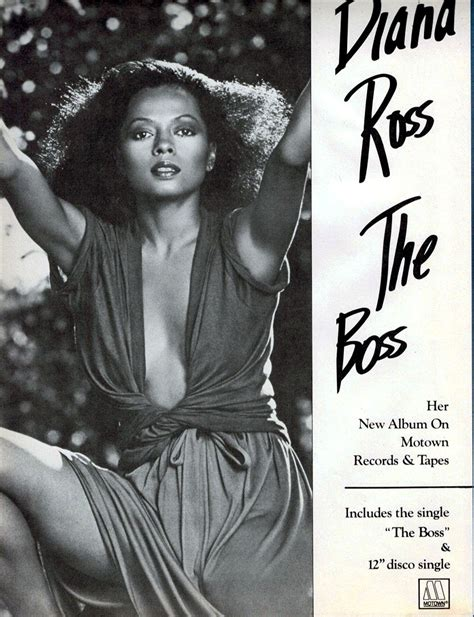Diana Ross Gets Supremely Carried Away With The Make Up Brush by 25 Amazing 1970s Album Advertisements