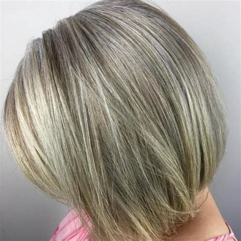 pictures of grey hair with highlights 60 gorgeous hairstyles for gray hair