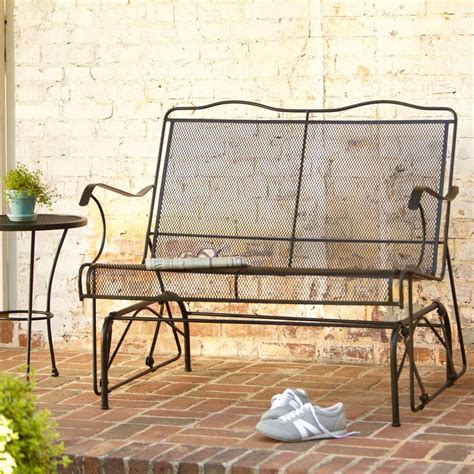 Patio Glider Chairs Metal Metal Gliders Patio Furniture Icamblog