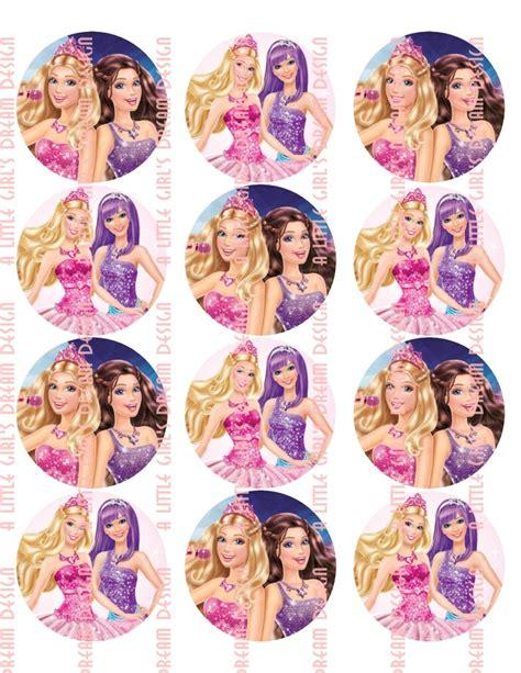 printable barbie stickers barbie princess and the popstar round sticker birthday