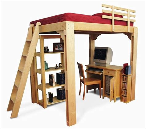 college bed lofts loft bed plans free dorm quick woodworking projects