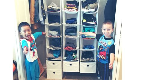 Kids Bedroom Furniture how to organize kids clothes closet no more hanging