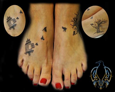 bird foot tattoo from the cage to freedom silhouette bird cage tree