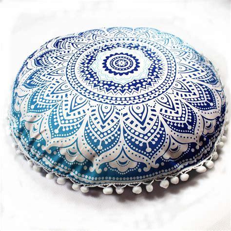 Bantal Sofa Mandala 1 indian mandala pillows bohemian home cushion pillows cover cushions decorative