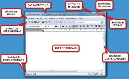 barra herramientas parte superior barra de men 250 curso de inform 225 tica b 225 sica