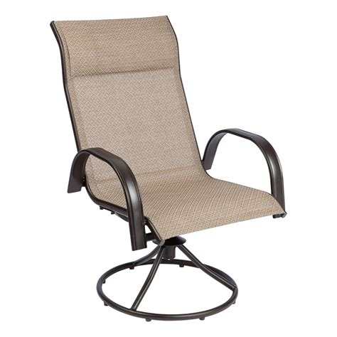 outdoor swivel chairs canada living accents newport swivel dining chair set of outdoor