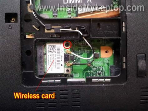 Wificard Dell Inspiron 1440 how to disassemble dell inspiron 1440 inside my laptop