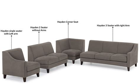 6 seat sectional sofa corner sofa without arms home the honoroak