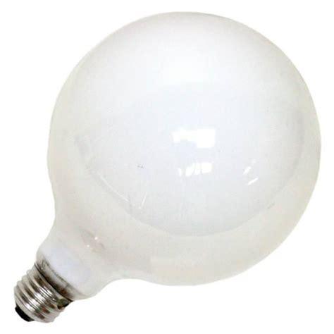 100 watt ge white incandescent light bulbs ge 49781 100g40 w g40 decor globe light bulb