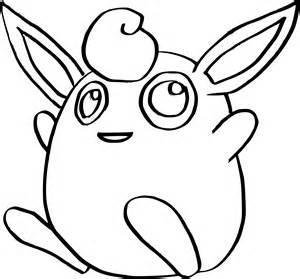 coloriage grodoudou pokemon 224 imprimer