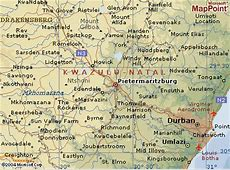 Pietermaritzburg Map Mabopane South Africa