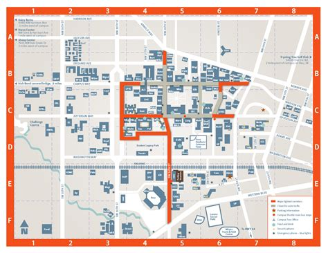 map of oregon universities cus oregon state visitors guide