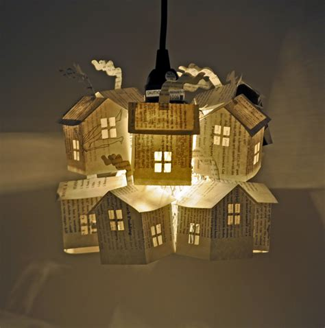 How To Make A Paper Lighter - hutch studio paper house light workshop