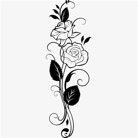 imagenes en blanco y negro flores dibujo de flores blanco y negro sketch black flores png
