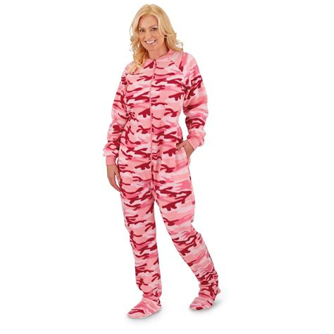 onesie pajamas guide gear s footed onesie pajamas 640647 sleepwear pajamas at sportsman s