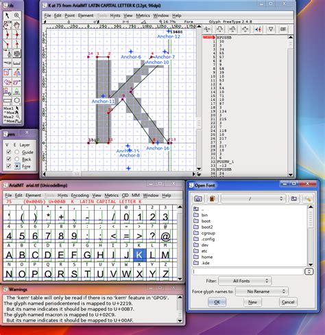 font design software windows create fonts free with this freeware and online tool
