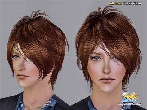 sims 2 male emo hair file peggy mh100722 pegy082 redbrown b jpg simswiki