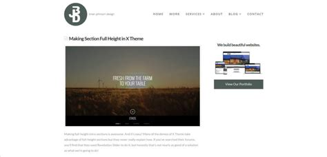 Page Template Default how to change default page template in x theme brian