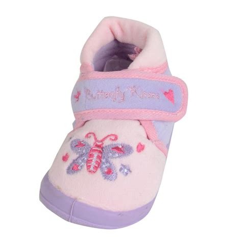 bootie slippers with rubber soles bootie style butterfly design slippers with