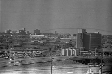 secrets in an dallas novel in book 45 books view of stemmons freeway and cabana hotel from the