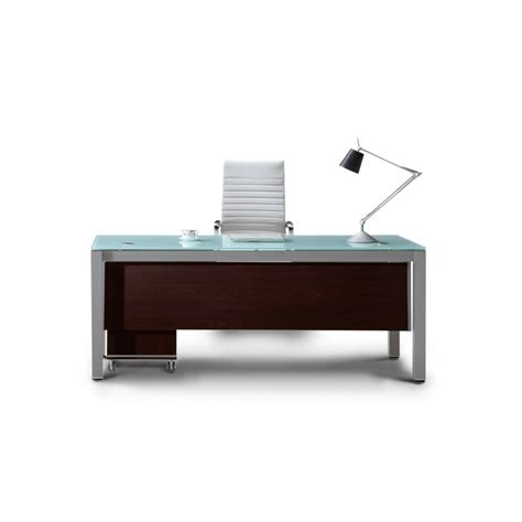 Executive Desks Modern Corp Designs Sling Series Glass Top Executive Desks Cd