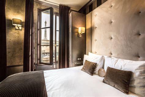chambres avec vues chambre de luxe avec vue hotel eiffel trocadero