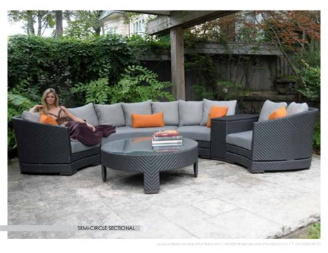 circle patio furniture half circle patio furniture icamblog