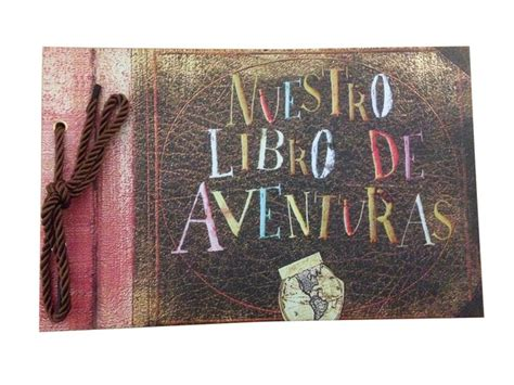 libro the adventure of the nuestro libro de aventuras our adventure book diy photo album wedding scrapbooking 80 pages