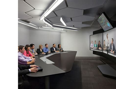 video conference layout realpresence immersive studio immersive telepresence