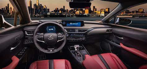 lexus wagon interior 2019 lexus ux interior