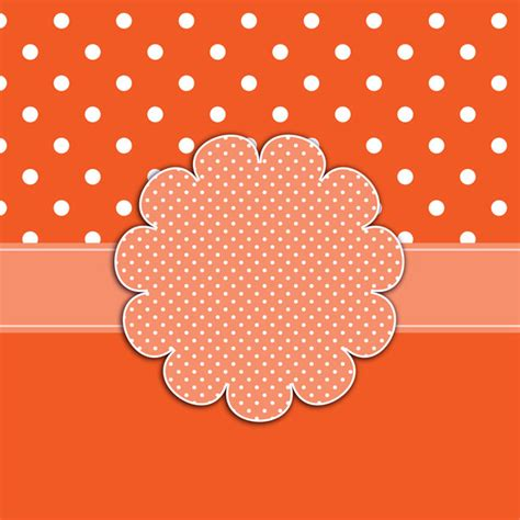 polka dots card template free stock photo public domain