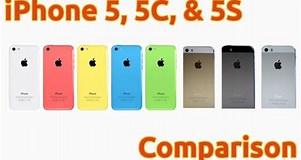 Image result for Compare iPhone 5 5C 5S. Size: 301 x 160. Source: www.youtube.com