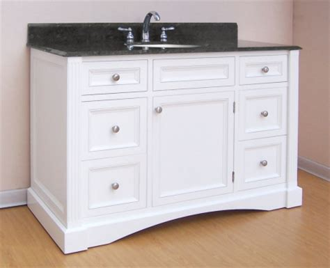 60 inch single sink vanity without top 48 inch single sink bathroom vanity with white finish and