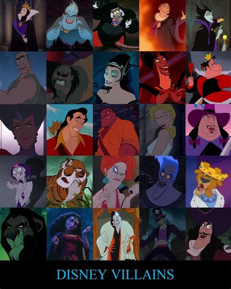 My Top 5 Disney Villains   maleficentquinn1996's Blog
