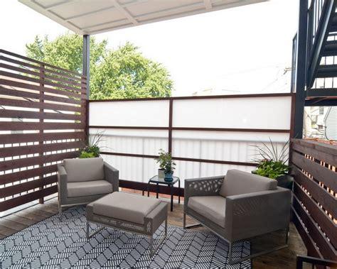 sichtschutz balkon holz balkon sichtschutz aus holz 50 ideen f 252 r balkongestaltung